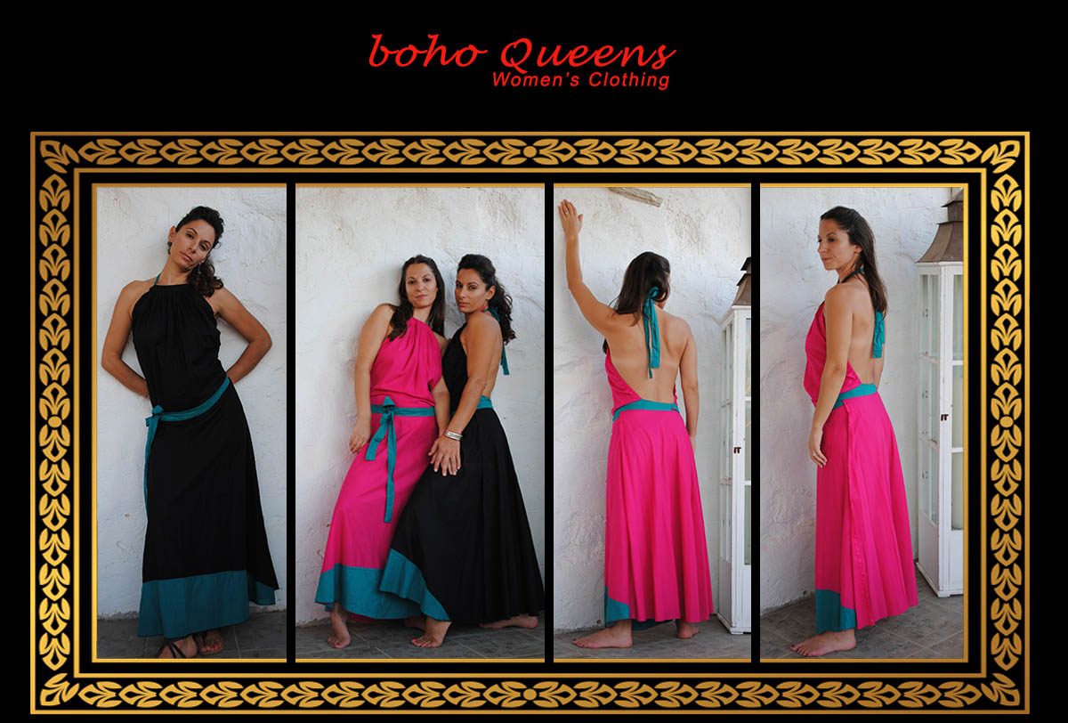 Women Clothing boho Queens